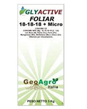 GLYACTIVE FOLIAR 18-18-18 – 3 kg