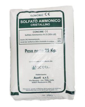 SOLFATO AMMONICO 21% CRIST ACETI – 25 kg