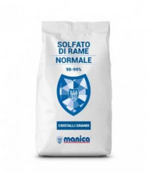 SOLFATO DI RAME – 25 kg