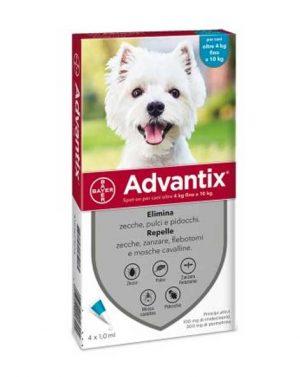 Advantix SpotOn cani 4-10kg