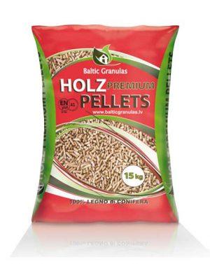 Holz Premium Pellet – 15 kg